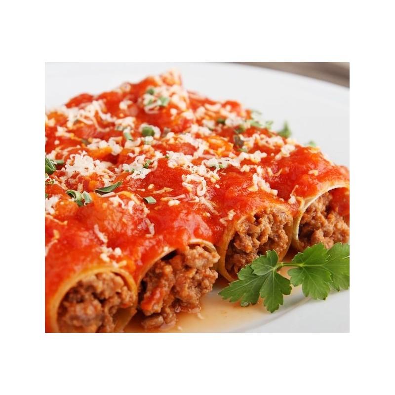 Cannelloni viande sauce Napolitaine