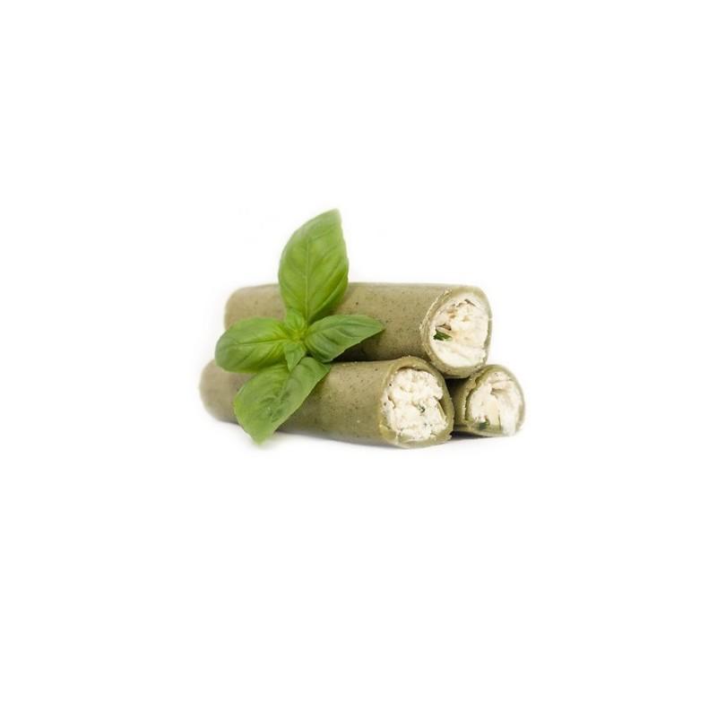 Cannelloni Chèvre & Ciboulette - Pâtes vertes aux épinards