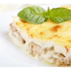 "Triangle Ricotta & Epinard ""Sauce Crème Parmesan"""