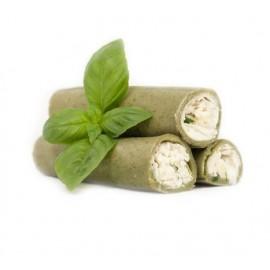 Chèvre & Ciboulette - Pâtes vertes aux épinards